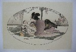 <p>Stunning framed arts and crafts era woodblock print, &quot;Baby Talk&quot; (Mason 76) by Helen Hyde, signed and dated 1908.&nbsp; The cutter was Matsumota and the printer was Murata. In the collection of the Library of Congress, The New York Public Library and museums throughout the US. In excellent condition.&nbsp; Framed size 27.5&quot; x 20.5&quot;.</p>
