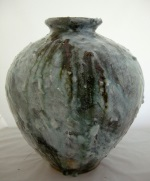 <p>Monumental 17&quot; Korean Moon jar by Anglo-Japanese ceramic artist, Akiko Hirai.&nbsp; Hirai's Moon jars were recently exhibited by the Royal Academy of Arts.&nbsp; In excellent condition.</p>