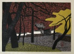 <p>Stunning woodblock print,&nbsp; &quot;Autumn in Kyoto&quot;, H/C, 1968 by Kiyoshi Saito.&nbsp; HC stands for hors de commerce or those prints reserved by the publisher.&nbsp; In excellent condition.&nbsp; Framed size is 29&quot;by 24&quot;.</p>