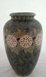 <p>Monumental 13.25&quot; Boch Freres Keramis, Gres Keramis Catteau vase, D666, F971, 1920.&nbsp; In excellent condition.</p>